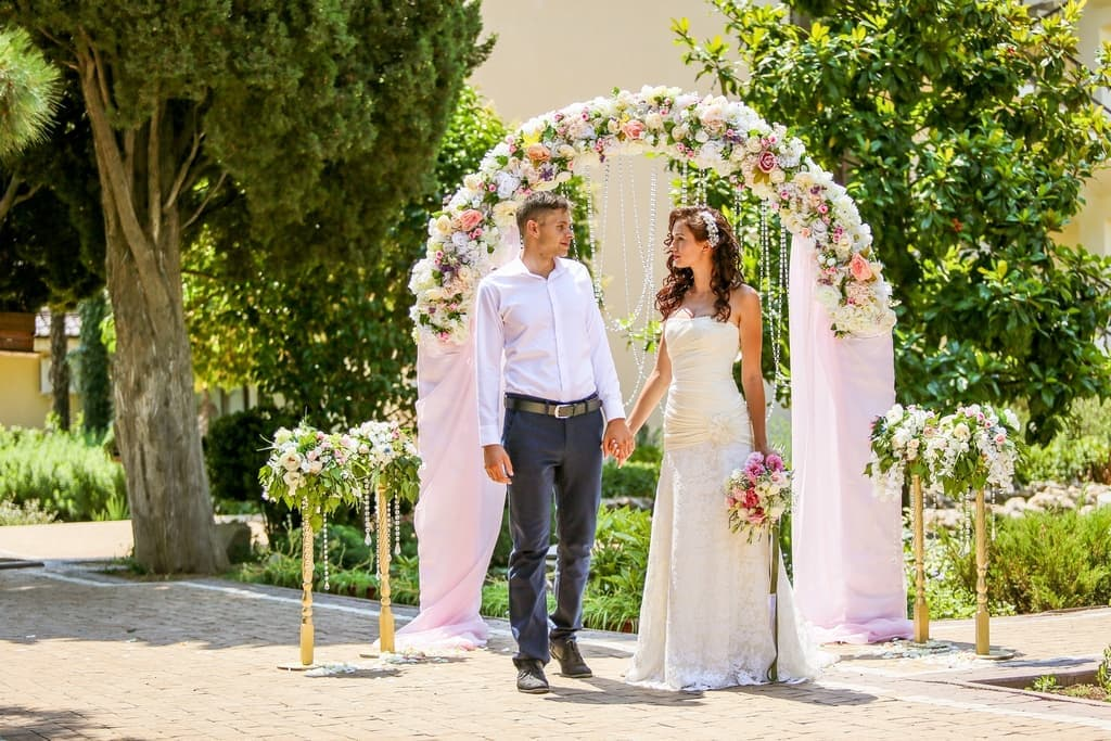 Wedding in Crimea in